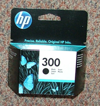 CC640EE - Genuine HP300 BLACK
