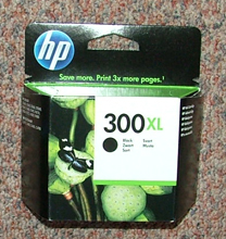 CC641EE - Genuine HP300XL BLACK