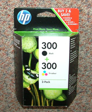 CN637EE - Genuine HP300 Twin-pack
