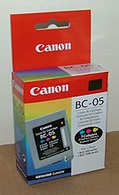 BC-05 - Original Canon Equipment Colour Cartridge
