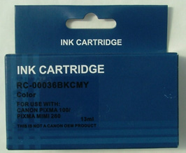 Compatible Canon Cli-36 COLOUR INK CARTRIDGE