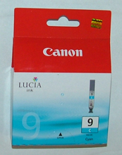 Genuine Canon CYAN 14ml Lucia ink cartridge