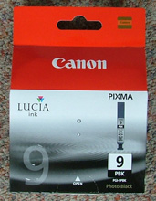 Genuine Canon PHOTO BLACK 14ml Lucia Cartridge