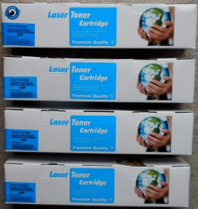 HP126A SET OF 4 HP 126 A Toner Cartridges